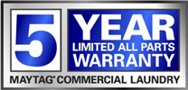 Maytag 5 Year Warranty